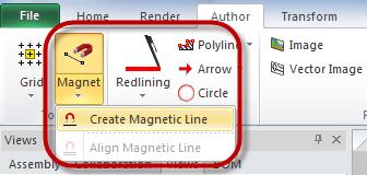 Organize a Documentação Técnica com o 3DVIA Composer e as Linhas Magnéticas