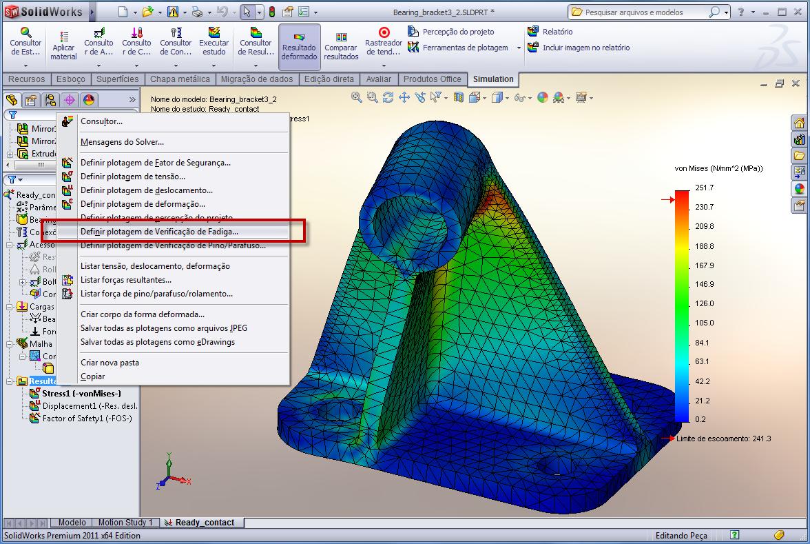 Definir a Garantia dos Produtos Ficou Mais Fácil com o SolidWorks Simulation
