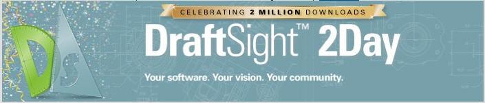 DraftSight passa a marca de 2 milhões de downloads