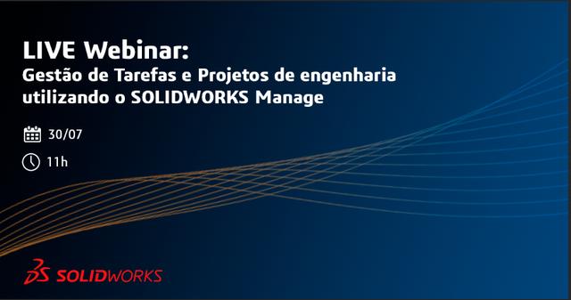 Gestão de Tarefas e Projetos de engenharia utilizando o SOLIDWORKS Manage