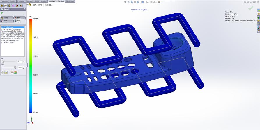 Otimize o Projeto de Peças Plásticas com o SolidWorks Plastics