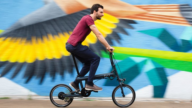 De partida ao sucesso – FLIT, bicicletas elétricas dobráveis