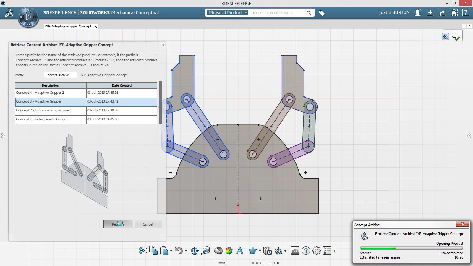 Revolucione o Conceito da Inovação com o SolidWorks Mechanical Conceptual