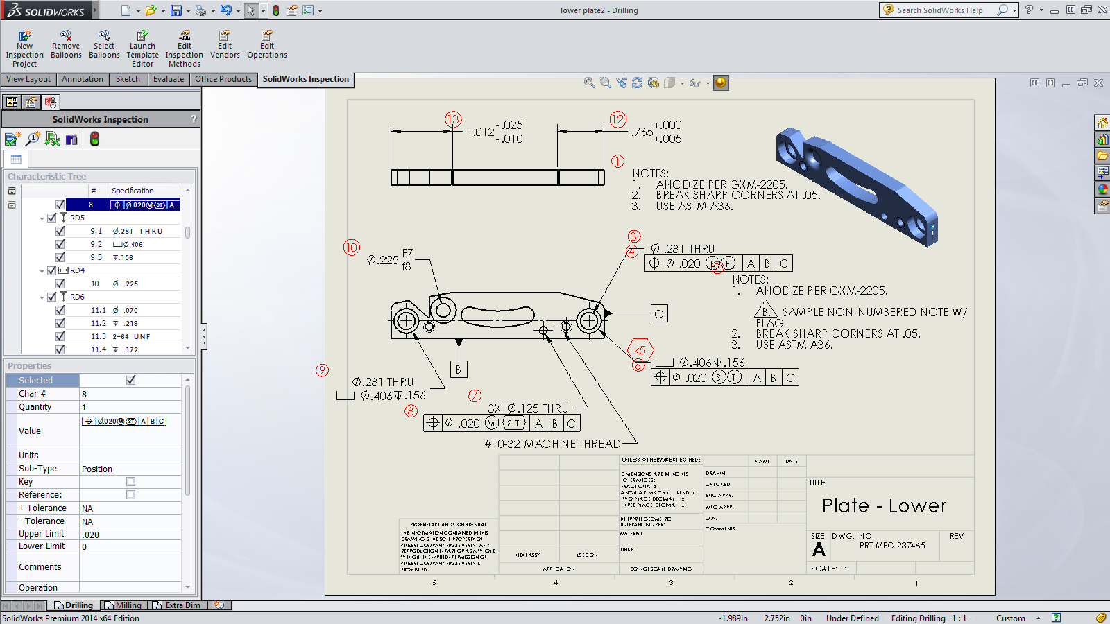 SolidWorks Anuncia o SolidWorks Inspection