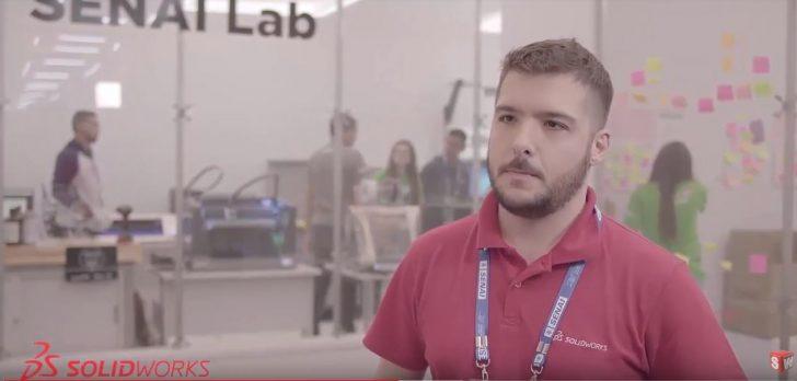 SolidWorks na Olimpíada do Conhecimento 2018 – Entrevista Thiago Amorim