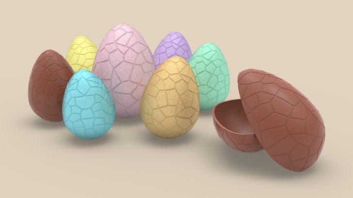 Tutorial de ovo de chocolate