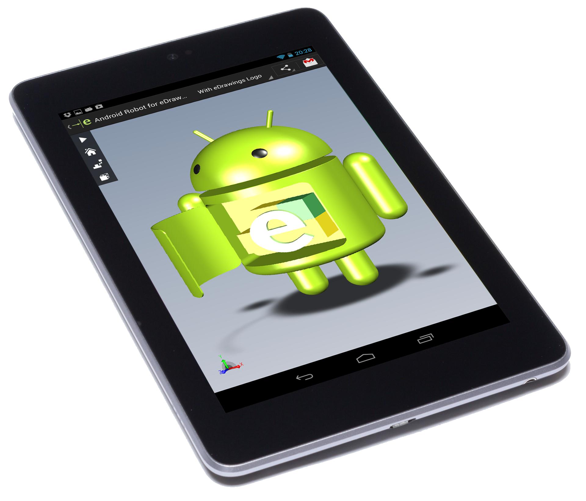 Apresentamos o eDrawings para Android