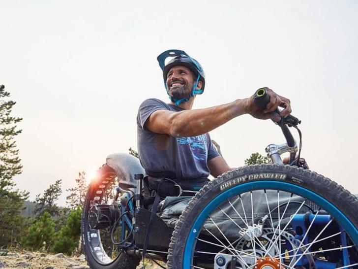 Projeto de liberdade para as pessoas com deficiência desfrutarem do ar livre
