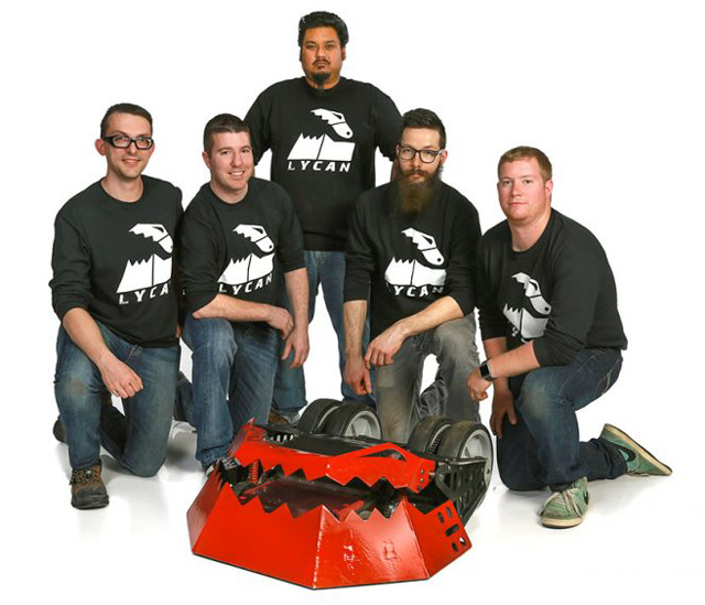 Time Lycan: BattleBots e SOLIDWORKS