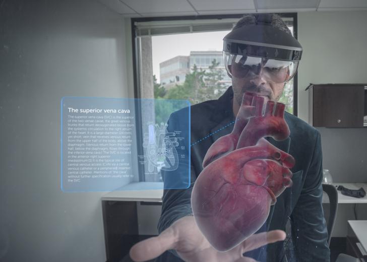 Quebrando os paradigmas dos projetos com o Headset de Realidade Aumentada da Meta.