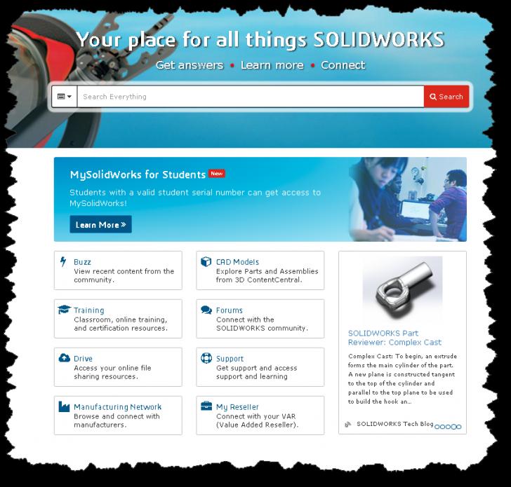 Apresentação do MySolidWorks for Students
