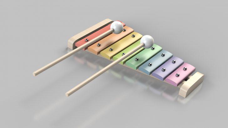 Tutorial de xilofone de madeira