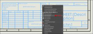Zeichnungsvorlagen optimieren: Block speichern in SOLIDWORKS