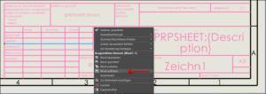 Zeichnungsvorlagen optimieren: Block auflösen in SOLIDWORKS