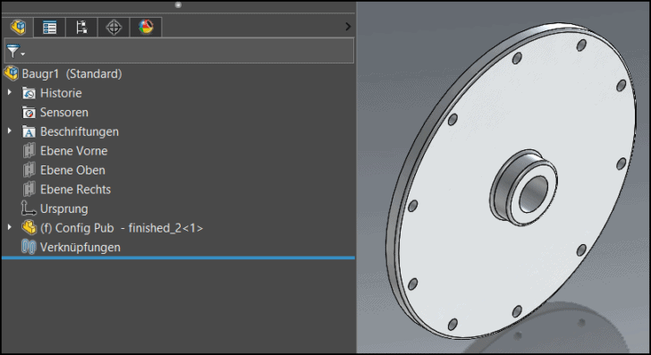 Flexible Konfigurationen mit dem Configuration Publisher in SOLIDWORKS erzeugen