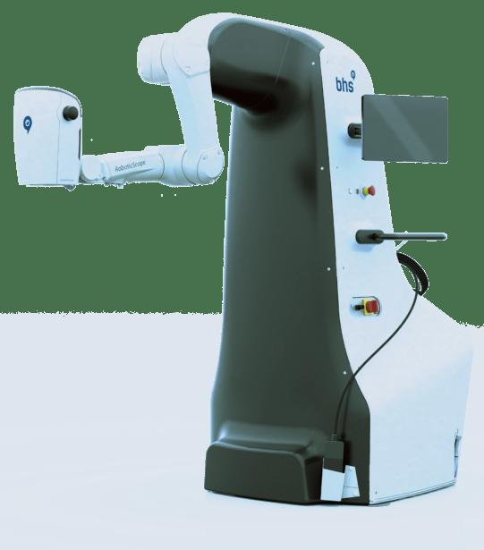 BHS Technologies GmbH: Besserer Durchblick für Chirurgen durch Entwicklung von medizinischem Smart Device mit SOLIDWORKS: Roboterarm