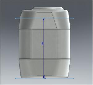 Volumenberechnung leicht gemacht - Volumen und Füllhöhe ermitteln: Bild 2