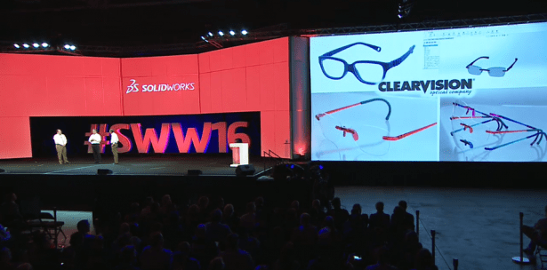 SOLIDWORKS World 2016: ClearVision Optical