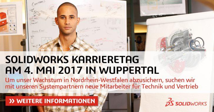 Karrieretag: SOLIDWORKS boomt weltweit – auch in Nordrhein-Westfalen