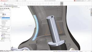verbesserte Funktionen Teilemodellierung