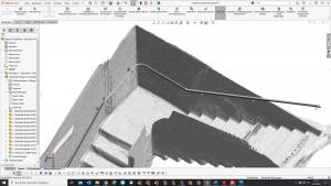 planetsoftware_3D-Scan_Wandsegmente_Geländer