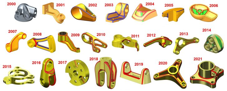 22 Jahre Model Mania®: Alle Zeichnungen inkl. Videolösung