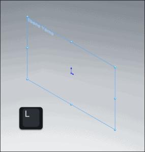 2D Skizze erstellen