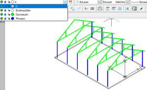 DWG-Volumenkörper nach SOLIDWORKS importieren: Layerzuordnung nach Bauteilart