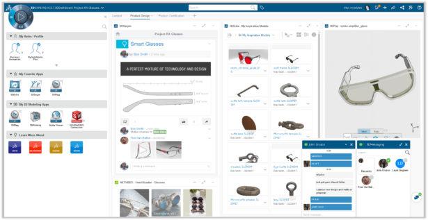 3DEXPERIENCE WORKS: Collaborative Business Innovator