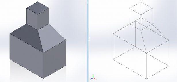 3D Skizze aus Volumenkörper | SOLIDWORKS Blog
