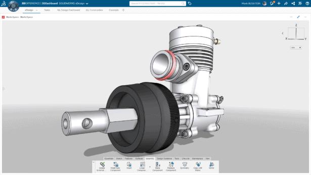 3DEXPERIENCE WORKS: 3DCreator (xDesign)