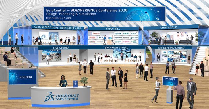 3DEXPERIENCE Conference Design, Modeling & Simulation: Communities und Experten treffen sich dieses Jahr virtuell