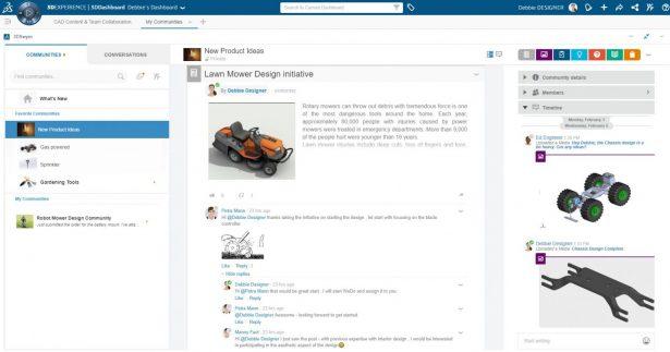 Individuelle Benutzeroberfläche im Collaborative Business Innovator