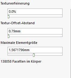 Propertymanager 3D-Textur (unterer Teil)