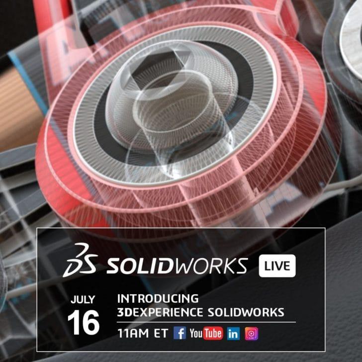 3DEXPERIENCE SOLIDWORKS: Erleben Sie das neue Portfolio am 16. Juli im Live Stream