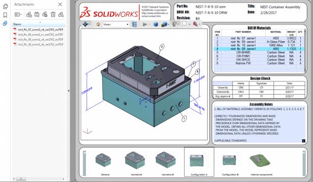 Vorgehensweise zum Verwalten von 3D-PDF-Anhängen