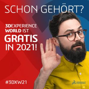 3DEXPERIENCE World 2021: KOSTENLOS in 2021