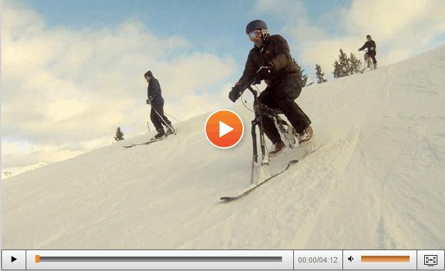SolidWorks Born To Design – Auswall konstruiert mit den SolidWorks Lösungen einen zusammenfaltbaren Schnee-Bike