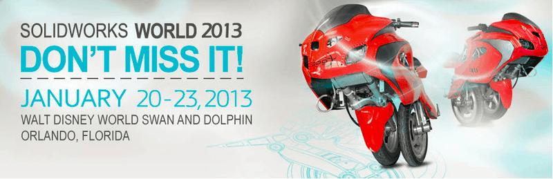 SolidWorks World 2013 – Der SolidWorks World Survival Guide