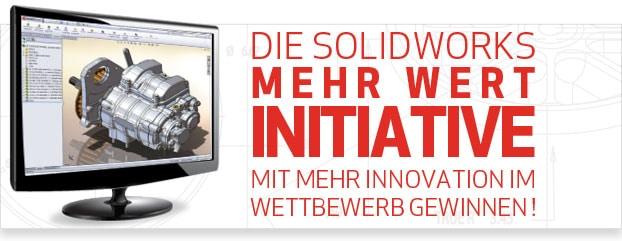 Nur für begrenzte Zeit: Das MEHRWERT Angebot von SolidWorks