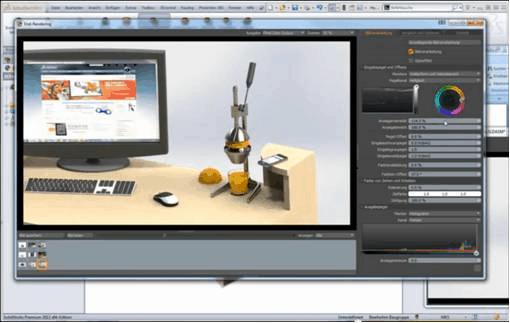 Die 7 besten Funktionen von PhotoView 360 in SolidWorks 2013