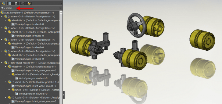 Tipps zum Feature-Manager in SOLIDWORKS
