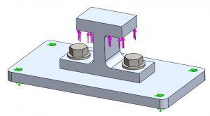 Baugruppen vereinfachen  –  Abbildung 2: Bracket Assembly