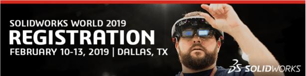 Registrieren Sie sich für die SOLIDWORKS 2019