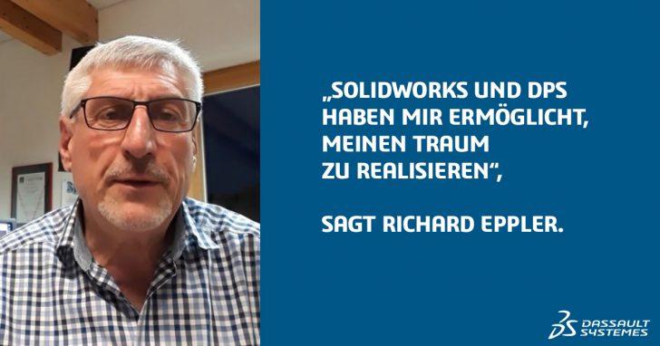 Erster SOLIDWORKS Kunde in Deutschland denkt nicht ans Aufhören