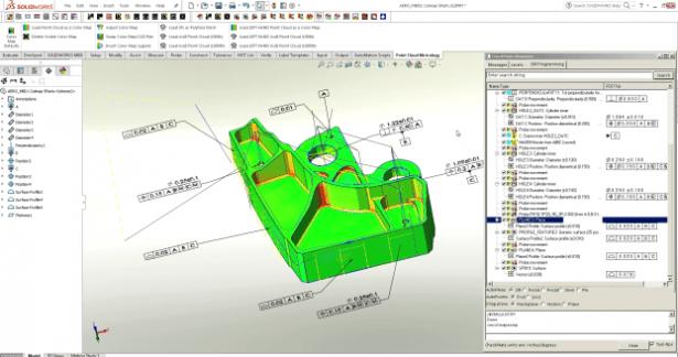 Automatische hochwertige Heatmap-Überprüfung durch 3D GD&T