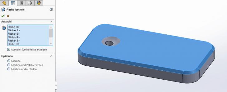 Tech-Tipp! Aus dem Volumenkörper die Oberflächen übernehmen