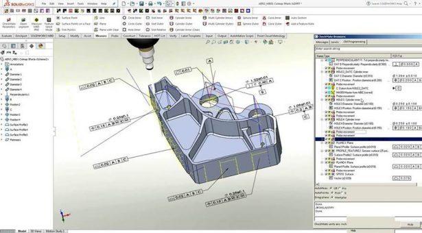 Automatisches CMM-Programmieren durch 3D GD&T