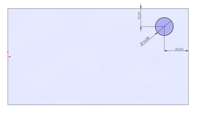 Wie kann eine Kraft nur auf einem Teil einer Fläche angewandt werden?
