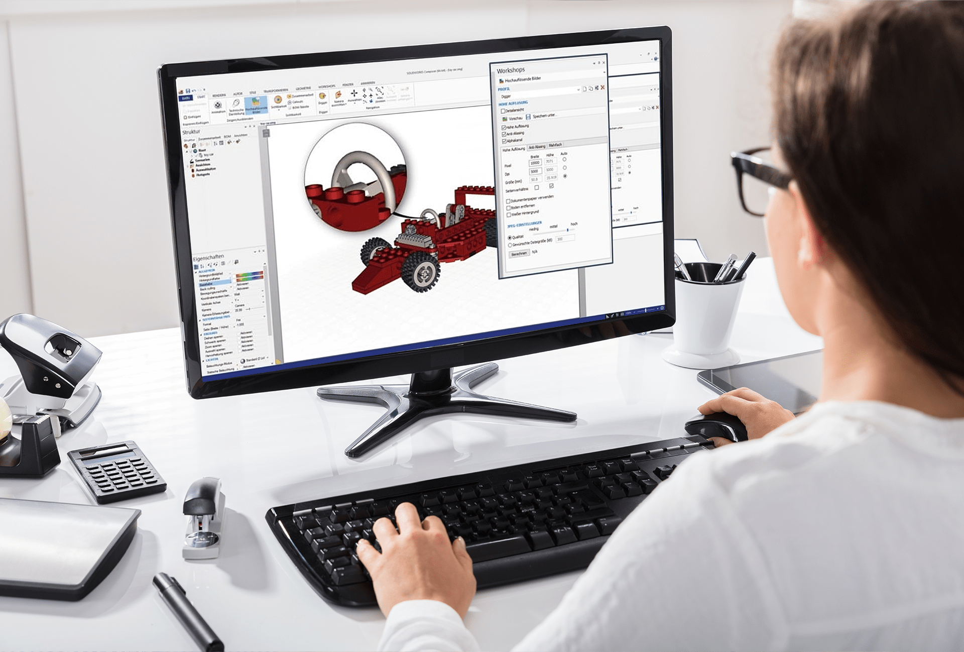 SOLIDWORKS MultiProduct Applikationen